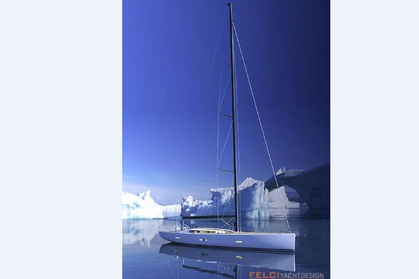 ICE 62 Felci yacht desing